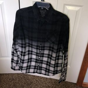 Black and White Ombré Aeropostale shirt